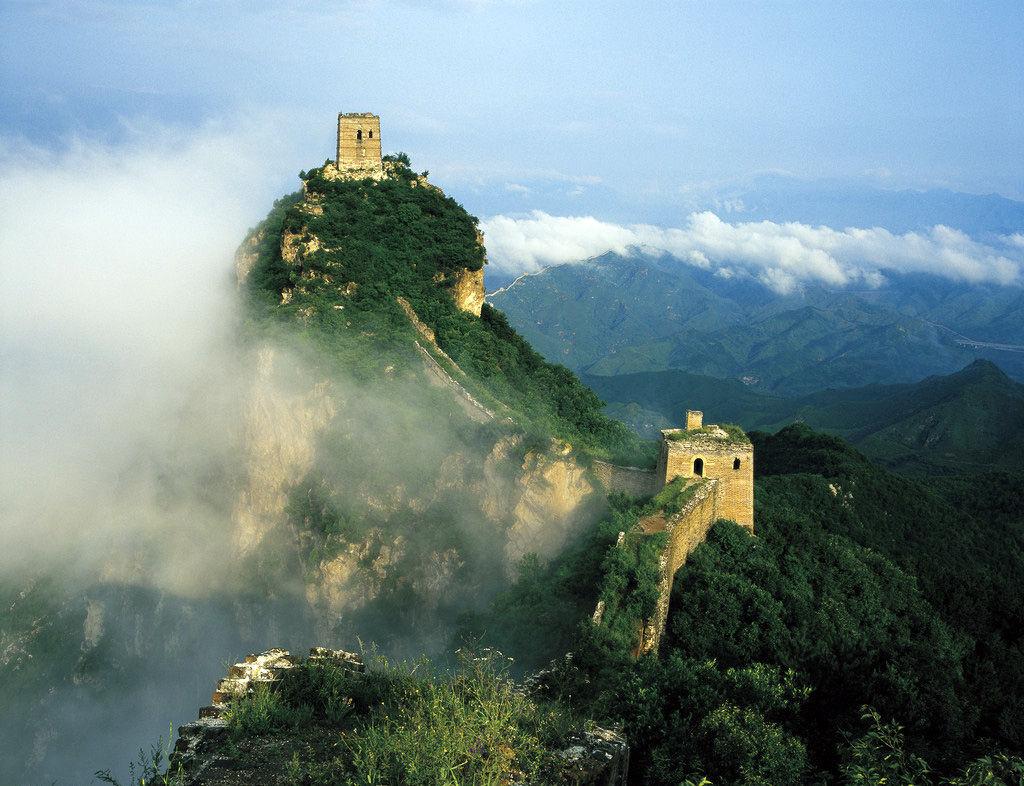 中国十大名胜古迹一万里长城