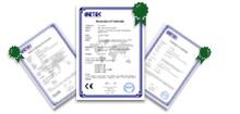 Certificate of Audio Equipment Factory