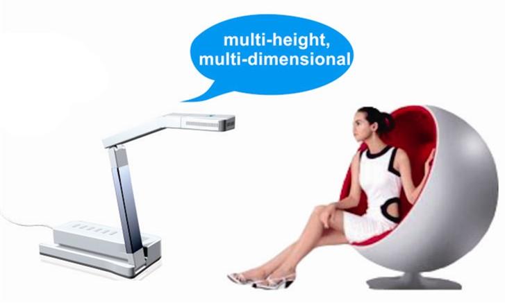 multi-height visual presenter