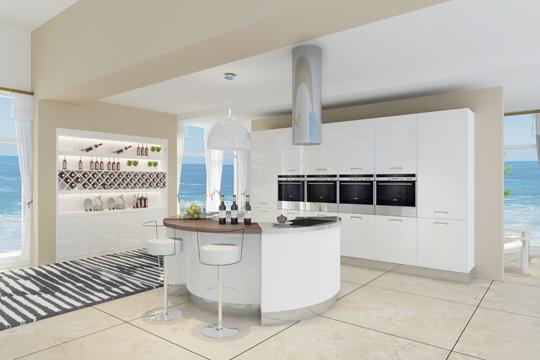 X006 Burjal Stainless Steel Modern Kitchen Cabinet