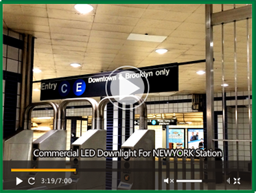 Commercial LED Downlight Video