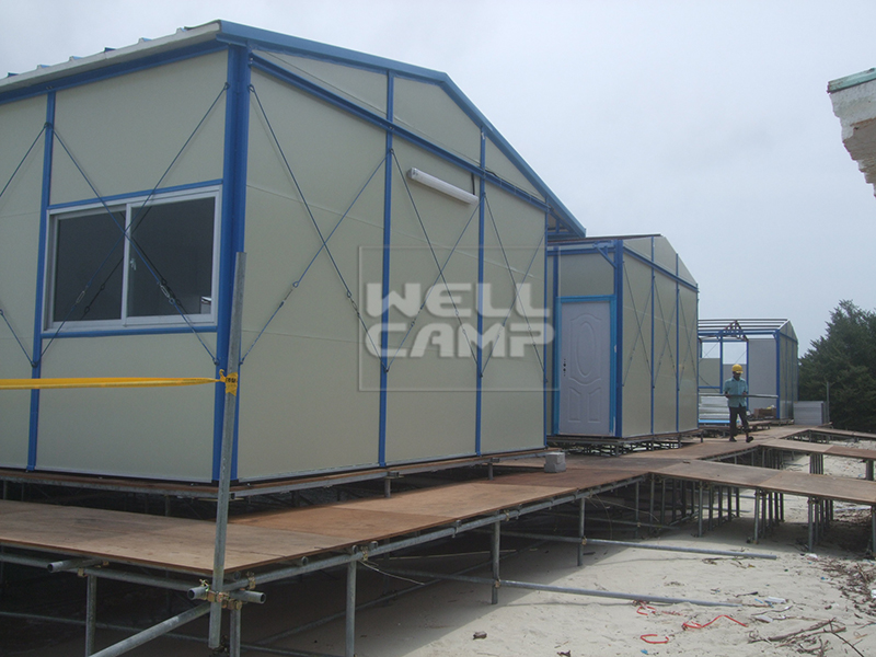 WELLCAMP, WELLCAMP prefab house, WELLCAMP container house-Durable Green Modern prefab movable House -17