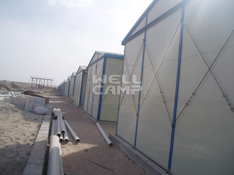 single prefab houses customized accommodation WELLCAMP, WELLCAMP prefab house, WELLCAMP container house company