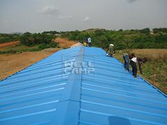K Prefab House- Health Facilities-WELLCAMP, WELLCAMP prefab house, WELLCAMP container house