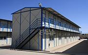T Prefab House- Health Facilities-WELLCAMP, WELLCAMP prefab house, WELLCAMP container house