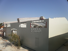 T Prefab House-Restaurant-WELLCAMP, WELLCAMP prefab house, WELLCAMP container house