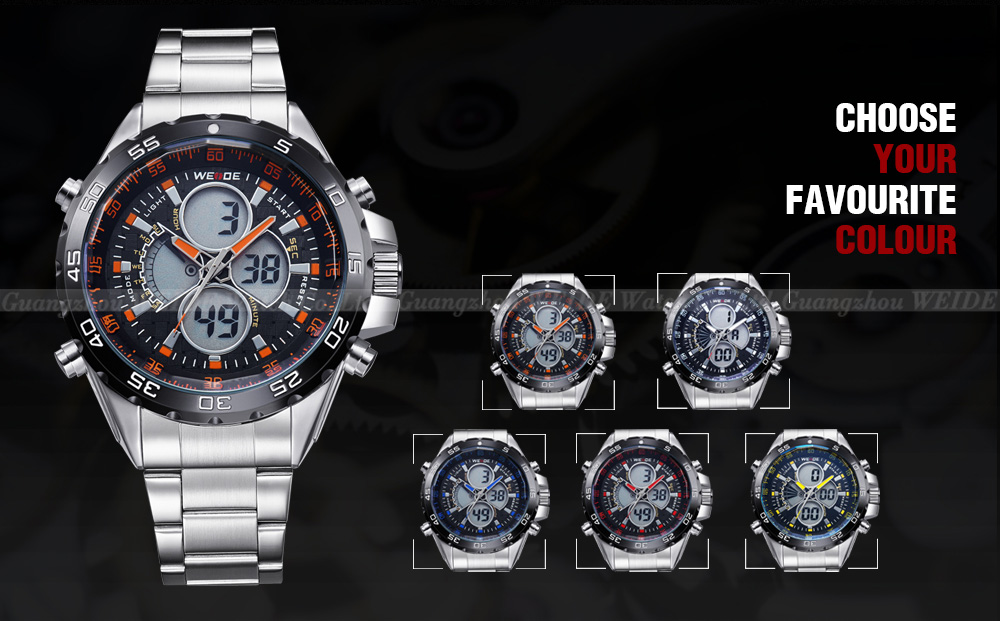 WH1103 Time Module Men Sports Watches