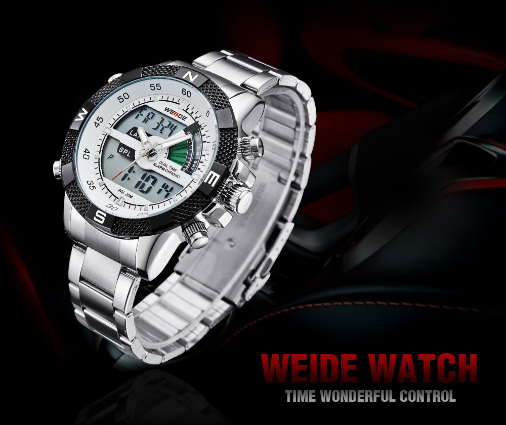 WH1104 Time Module  Men Sports Watches