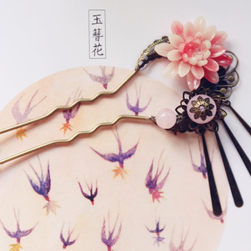 古风发簪·手工制作·【燕呢喃】图片