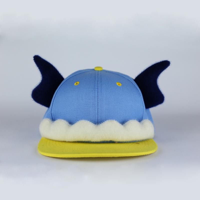 帽子手绘画图片颜色
