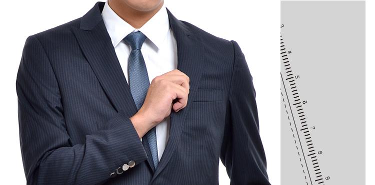 羊毛深蓝条纹商务西装