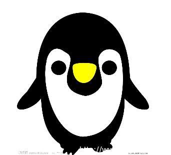 少儿简笔画 画企鹅 幼儿绘画小动物 宝宝学绘画 仔仔屋论坛-半圆形动