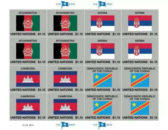 联合国国旗系列邮票的漫漫发行路