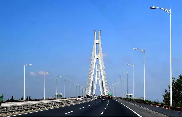简笔画南京长江大桥