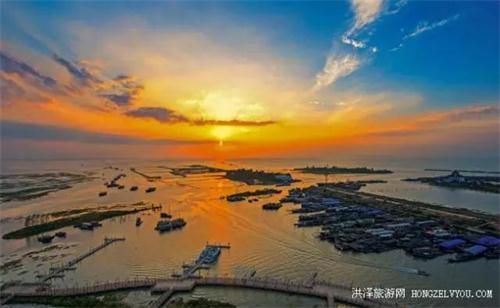 洪泽湖古堰旅游风景区分为水釜城风景区,渔人湾风景区,洪泽湖欢乐园