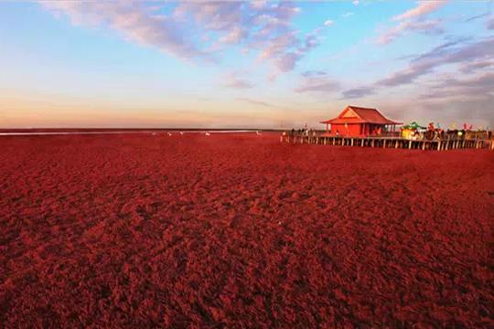 乌鲁木齐红沙滩风景区冬季