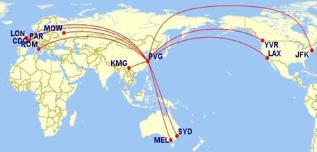 """比如南京飞成都或贵州的航线,同样存在返程时""""节省""""半个多小时的情况."""