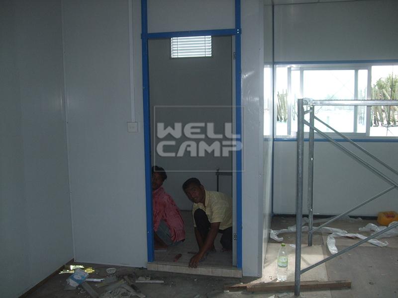 WELLCAMP, WELLCAMP prefab house, WELLCAMP container house Brand k3 uae k14 house prefab houses
