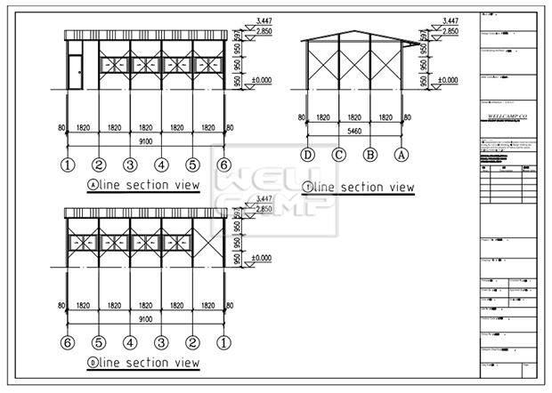 prefabricated houses china price k5 officek21 k10 affordable Bulk Buy