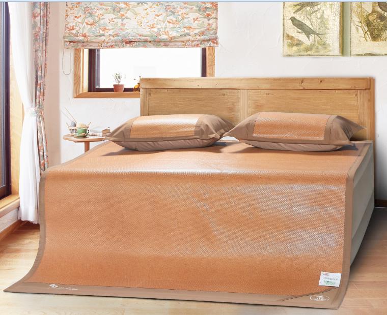 印尼加厚3D透氣藤席三件套-艾草驅蚊、薰衣草助眠