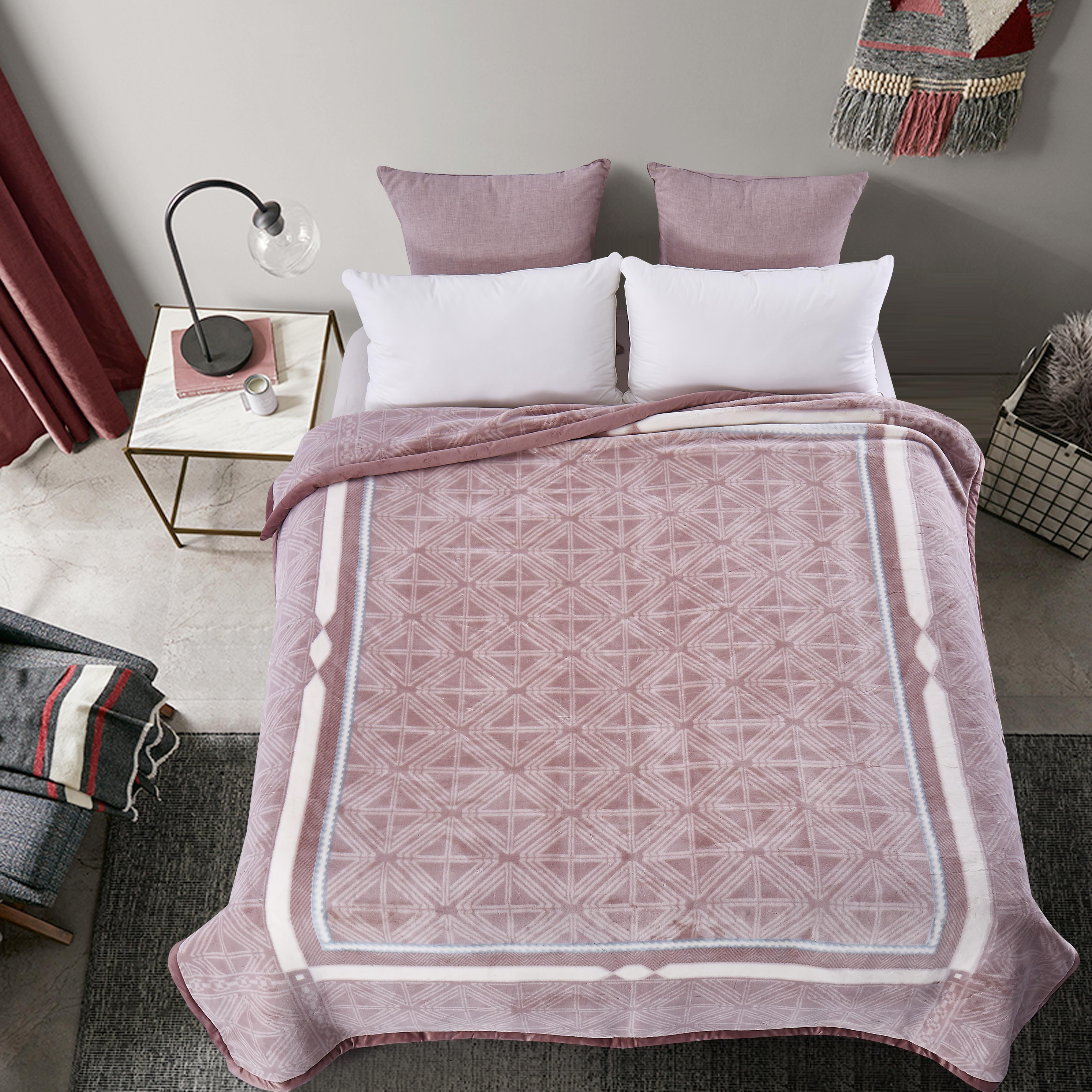 珍珠精絨毛毯