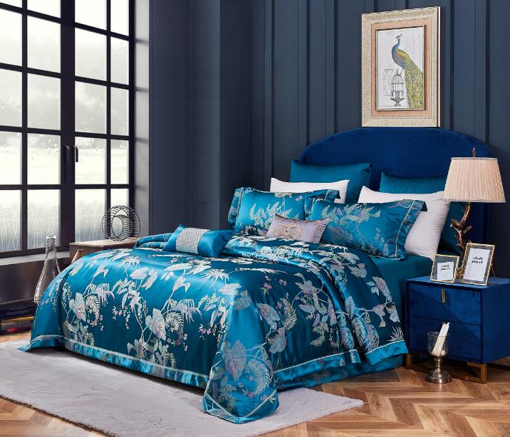高精密提花床蓋六件套-奧塞爾