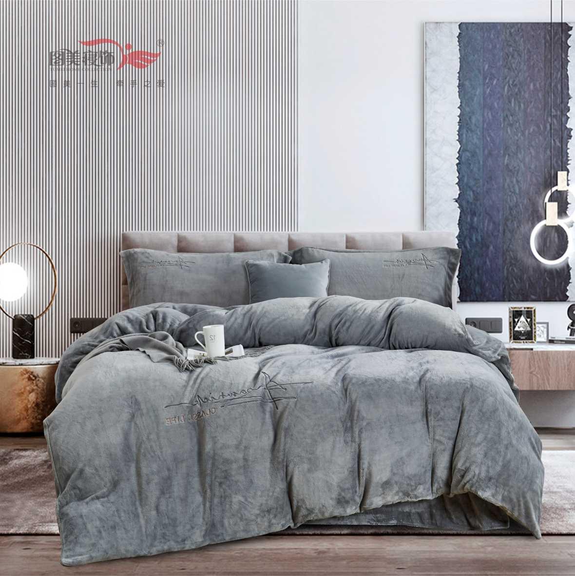 韓國絨床笠四件套-巴倫(鵝黃、粉、淺粉、淺灰、淺藍、深灰、深藍)