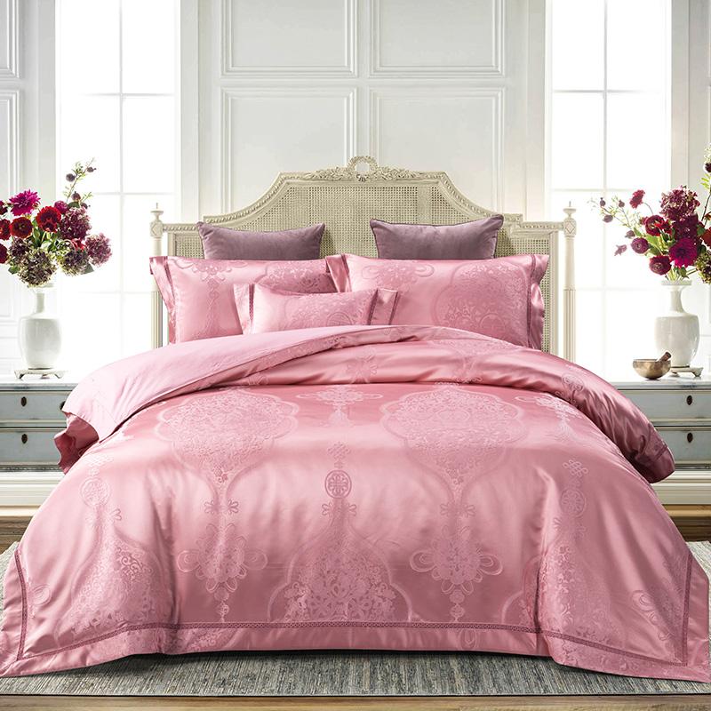 高精密提花床蓋六件套(安麗雅)