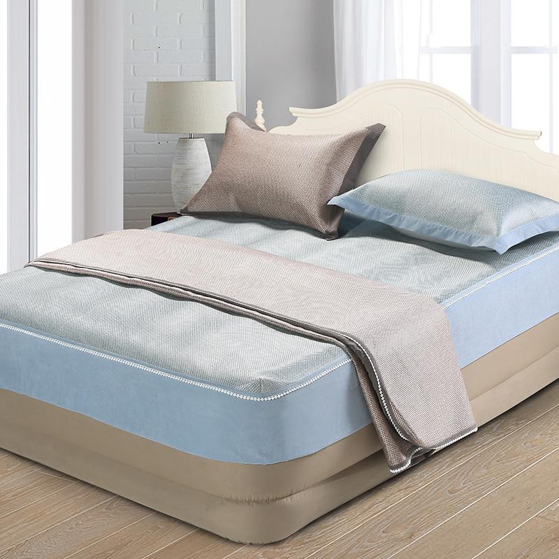 床包式冰藤席三件套